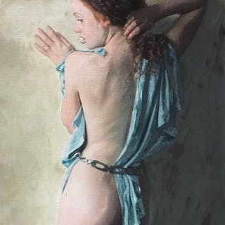 The Quiet Muse - William Oxer F.R.S.A.