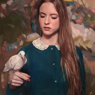 Wing To Me My Rest - William Oxer F.R.S.A.