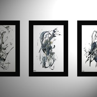 3 - Abstract EXPressionism Series 6980.81.83.71109 - Kris Haas