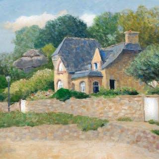Saint Guirec  Perros-Guirec Brittany House - Gav Banns