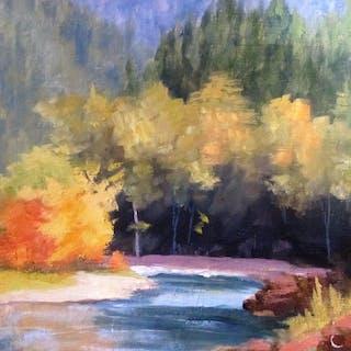 Fall on McDonald Creek - Claudia Davis