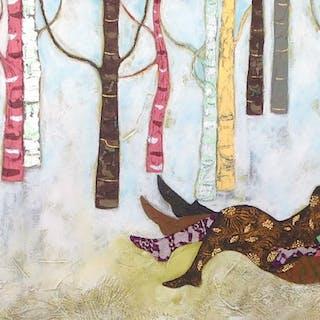 Deer visitor - Diana Rosa