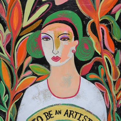 To be an artist - Diana Rosa