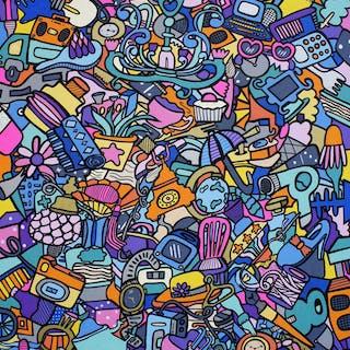 Diamonds  Decks & Dominoes - Kev Munday