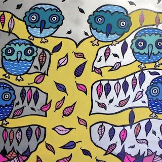 Autumn Owls - Kev Munday