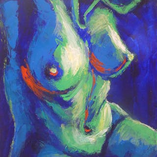 Midnight Lady B - Female Nude - Carmen  Tyrrell