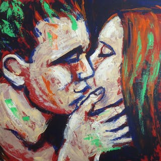 Lovers - Colours And Kisses - Carmen  Tyrrell
