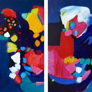 Midnight Play. Diptych. - Valerie Erichsen Thomson
