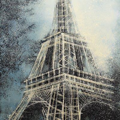 Paris. The Eiffel Tower At Dusk - Marc Todd