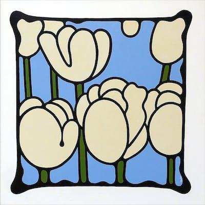 Ivory Tulips - Simon Fairless