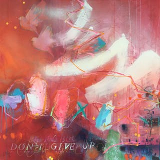 don't give up II - Bea Garding Schubert