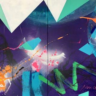 imagine II (diptychon) - Bea Garding Schubert