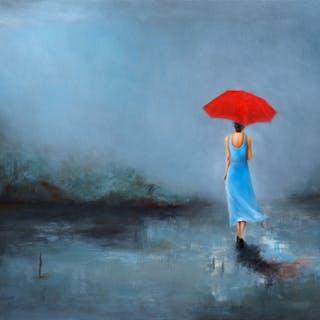 Lady with Umbrella - Nicole Daniah Sidonie