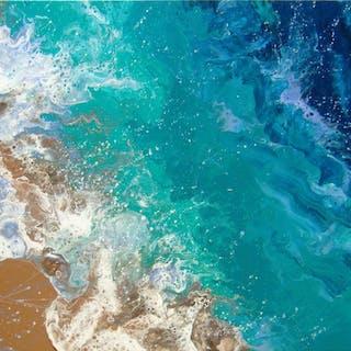 SEA WAVES - Irini Karpikioti