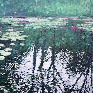 Lily Pond Reflections - Zoe Elizabeth Norman