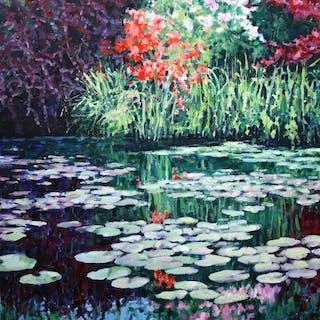 Garden Reflections - Zoe Elizabeth Norman