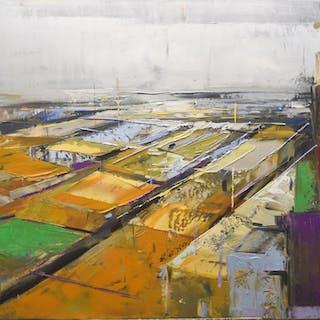 """""Abstract city 10"""" - Karina Antonczak"