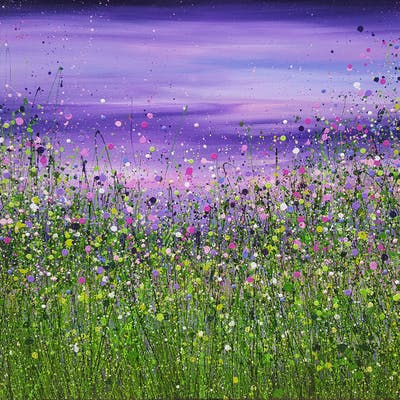 Amethyst Wild Twilight - Reserved - Lucy  Moore