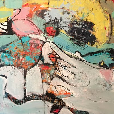 Flamingo - Theresa Vandenberg Donche