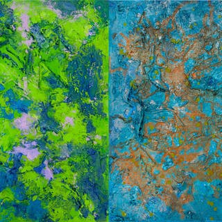 Color Healing  - TETRAPTYCH - Pamela Rys