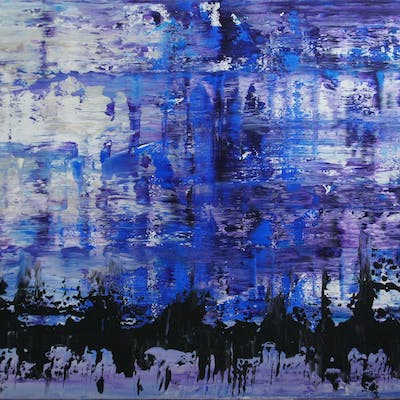 They Came In Droves (70 x 140 cm) (28 x 56 inches) - Ansgar Dressler