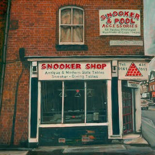 Snooker Shop  Manchester - Michelle Heron