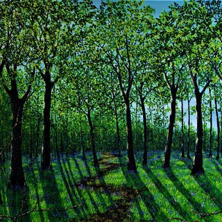 Spring in The Forest - HAZEL THOMSON