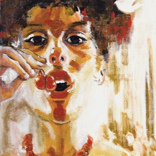 Sweet Cherries - Eva  Lewarne