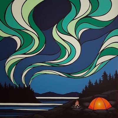 Northern Lights #13 - Monica Morrill