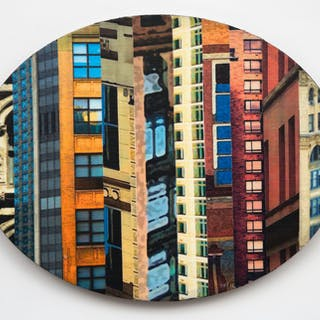 Patchwork City 58 - Marilyn Henrion