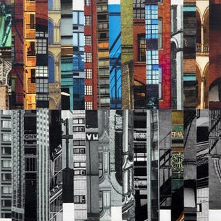 Patchwork City 72 - Marilyn Henrion