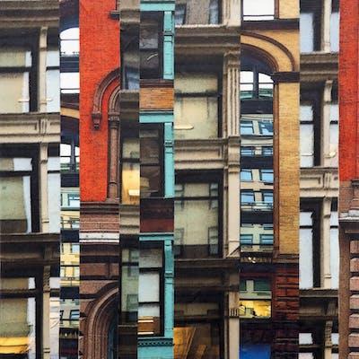 Patchwork City 71 - Marilyn Henrion