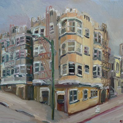 Broadway & Leavenworth San Francisco - John Kilduff