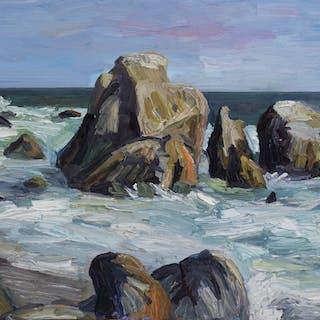 Leo Carrillo Beach Rocks #1 - John Kilduff