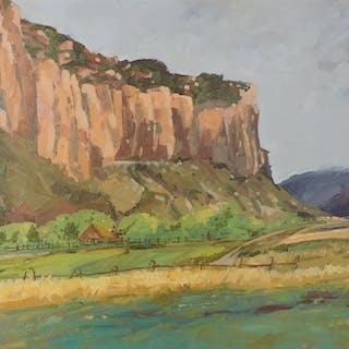 Farm in Canyon Land - Richard Szkutnik