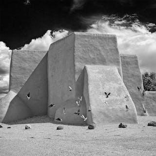 Rancho de Taos No. 3 - METAL PRINT WALL ART - daniel ashe