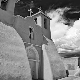 Mission Church -ACRYLIC/METAL PRINT WALL ART - daniel ashe