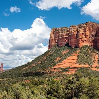 Red Rock Landscape - daniel ashe