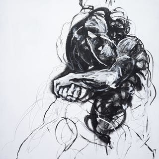 Hercules and Antaeus - Derek Overfield