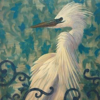 Snowy Egret - Cynthia Burke