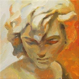 Mix in yellow 2 (20 x20 cm.) - Irjan Moussin