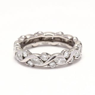 Platinum and Diamond Eternity Band, SUWA