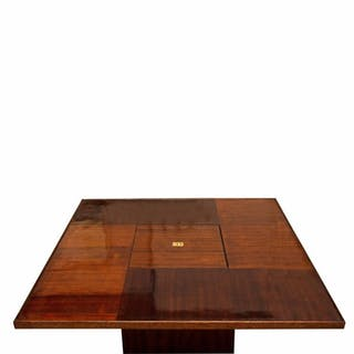 Andre Sornay Cocktail Table with Concealed Bar Compartment