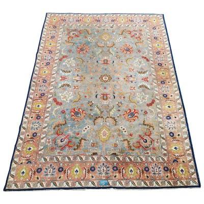 Antique Inscribed Tabriz Shah Abbas Carpet, 1920