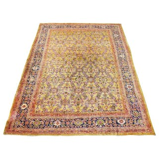 Antique Sultanabad Carpet, circa 1900
