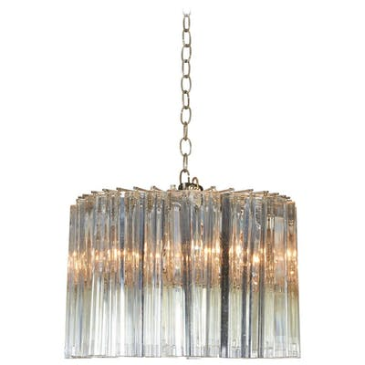 Dramatic Crystal Chandelier by Camer