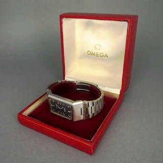 Omega DeVille 5359 Herren Armbanduhr in Edelstahl Sammleruhr gestempelt