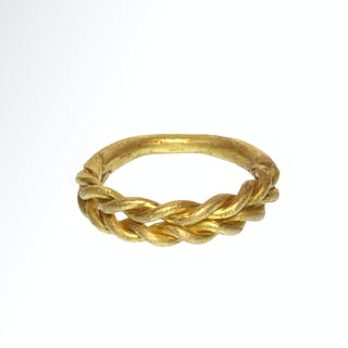 Viking Gold Ring, c. 10th Century A.D.