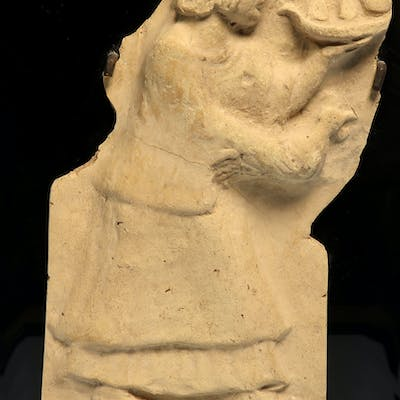 Roman Terracotta Campana Relief with Offering Scene, c. 1st Century