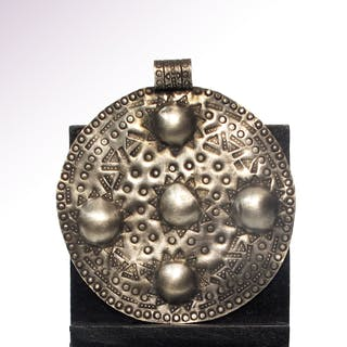 Large Viking Silver Pendant, c. 10th Century A.D.